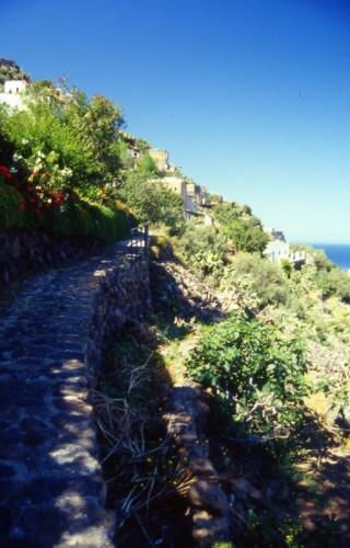 Lipari - Alicudi - camminamento