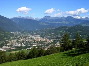 Bressanone nella valle Isarco (BZ)
