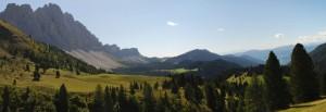 Funes (BZ) - l'alpeggio nell'alta valle