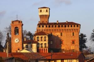 Rocca Viscontea Sforzesca Sec.XV Castello di Briona vista est