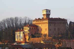 Rocca Viscontea Sforzesca Sec.XV Castello di Briona vista sud