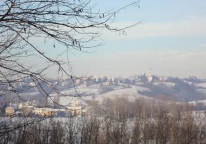 Carezzano: paesaggio invernale