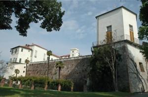 le fortificazioni della parte ovest sul parco pubblico