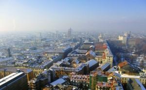 Torino nel freddo della sua bellezza