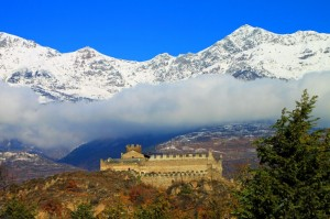 Castello di San Giorio visto da sud