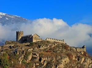 Castello di San Giorio visto da sud-ovest