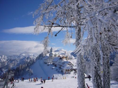 Tarvisio - Adornato di neve