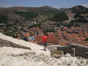 Il Borgo visto dal castello degli Imperiali