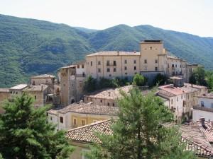 Veduta sul borgo medievale