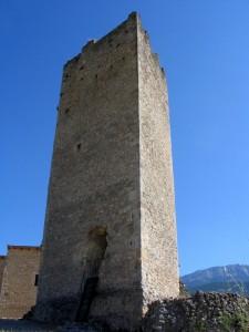 La torre del castello di Beffi