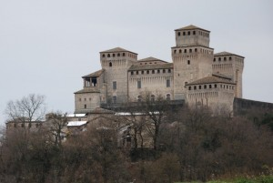 Langhirano:il castello di torrechiara
