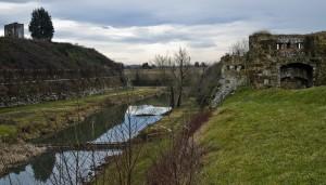 Palmanova: il fossato esterno