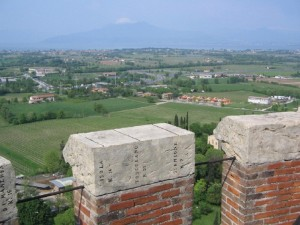 Panorama dalla torre di San Martino della Battaglia