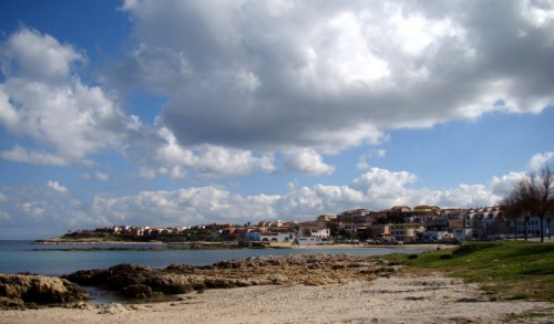 Porto Torres - Nuvole a bassa quota