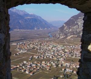Besenello visto dal castello