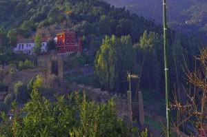 Le antiche mure medioevali che circondavano la città di Iglesias
