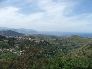 Castroreale, veduta Panoramica