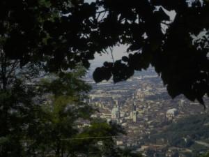 panorama dal colle Cidneo