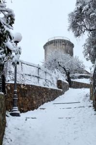 Torre Dei Panei Innevata