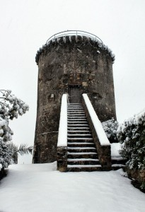 Torre Dei Panei Sotto La Neve