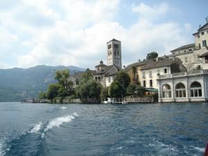 Isola S. Giulio lago d'orta