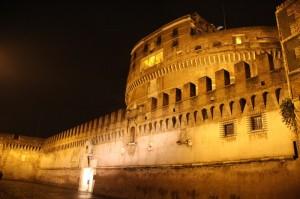 Castel Sant'Angelo, da vicino fa impressione, 8gen2010