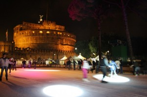 Castel Sant'Angelo, come Vancouver in versione Olimpiadi Invernali (2)