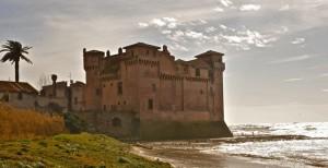il castello di santa severa e il vento