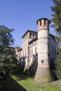 Il castello di Piovera, lato Sud-Est.