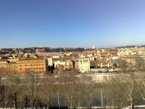 "Roma vista dal ""giardino degli aranci"""