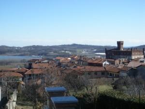 Vista lago e castello