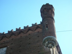 Una delle 4 torri del castello