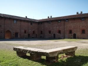 Il cortile del Castello