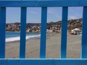 la spiaggia a fine stagione