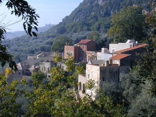 Finale Ligure - l'antico abitato di Lacremà