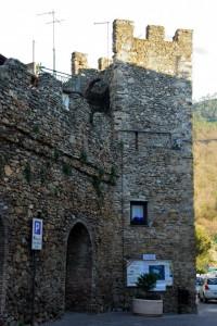 Torre delle mura di Villanova di Albenga.