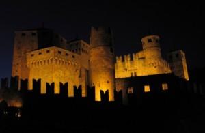 E' notte al castello