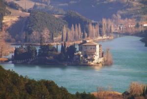 Il castello sul lago