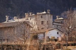 Un castello tra le case
