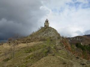 Arrampicandosi a Rocca Corneta