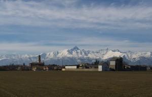 Veduta di Buriasco