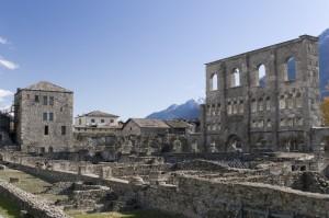 Torre e storia ad Aosta