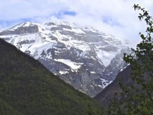 Il monte Focalone dalla valle dell'Orfento