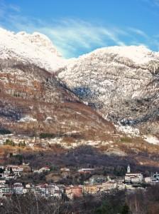 inverno a Castellavazzo