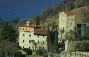 Fotografando il castello in compagnia