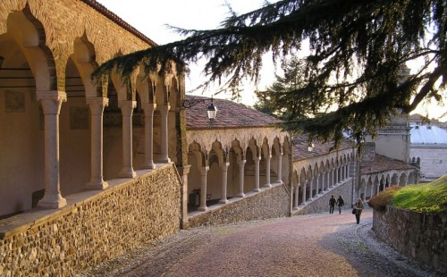 Udine - Salita al castello