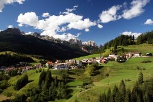 Panorama col Catinaccio