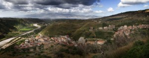 Panorama di fiumara