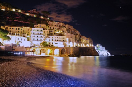 Amalfi - vento sul mare