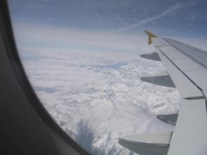 le miae Alpi dall'aereo